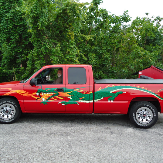 Ricky's new Dragon truck