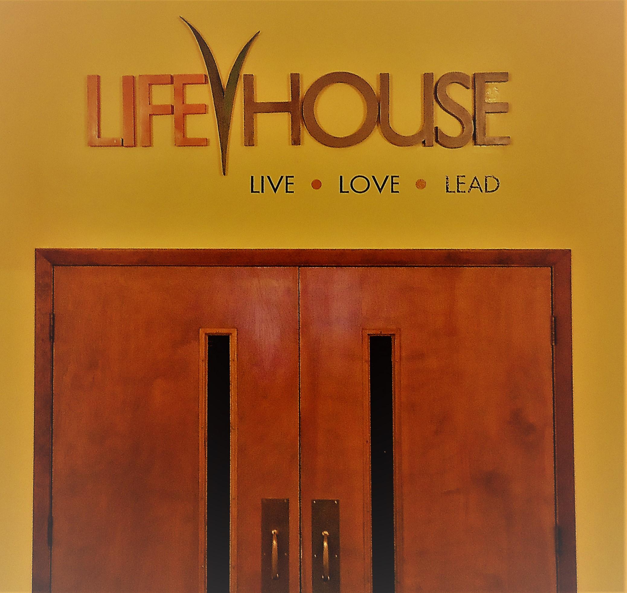 Lifehouse 3D letters