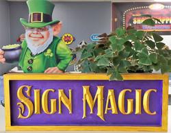 Sign Magic and Shamrock