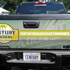 Century Builders Tailgate Wrap