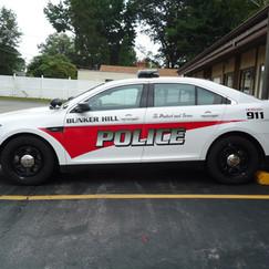 Bunker Hill Police car