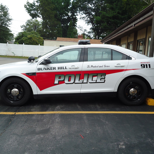 Bunker Hill Police car