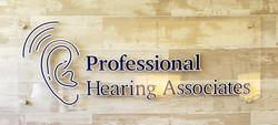 Professional Hearing Sign 3D on Plexi
