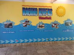 Raging Rivers hallway 2014