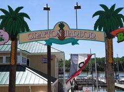 Grafton Harbor entrance