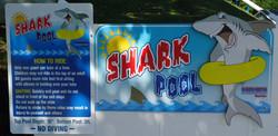Shark Pool 2012 signs