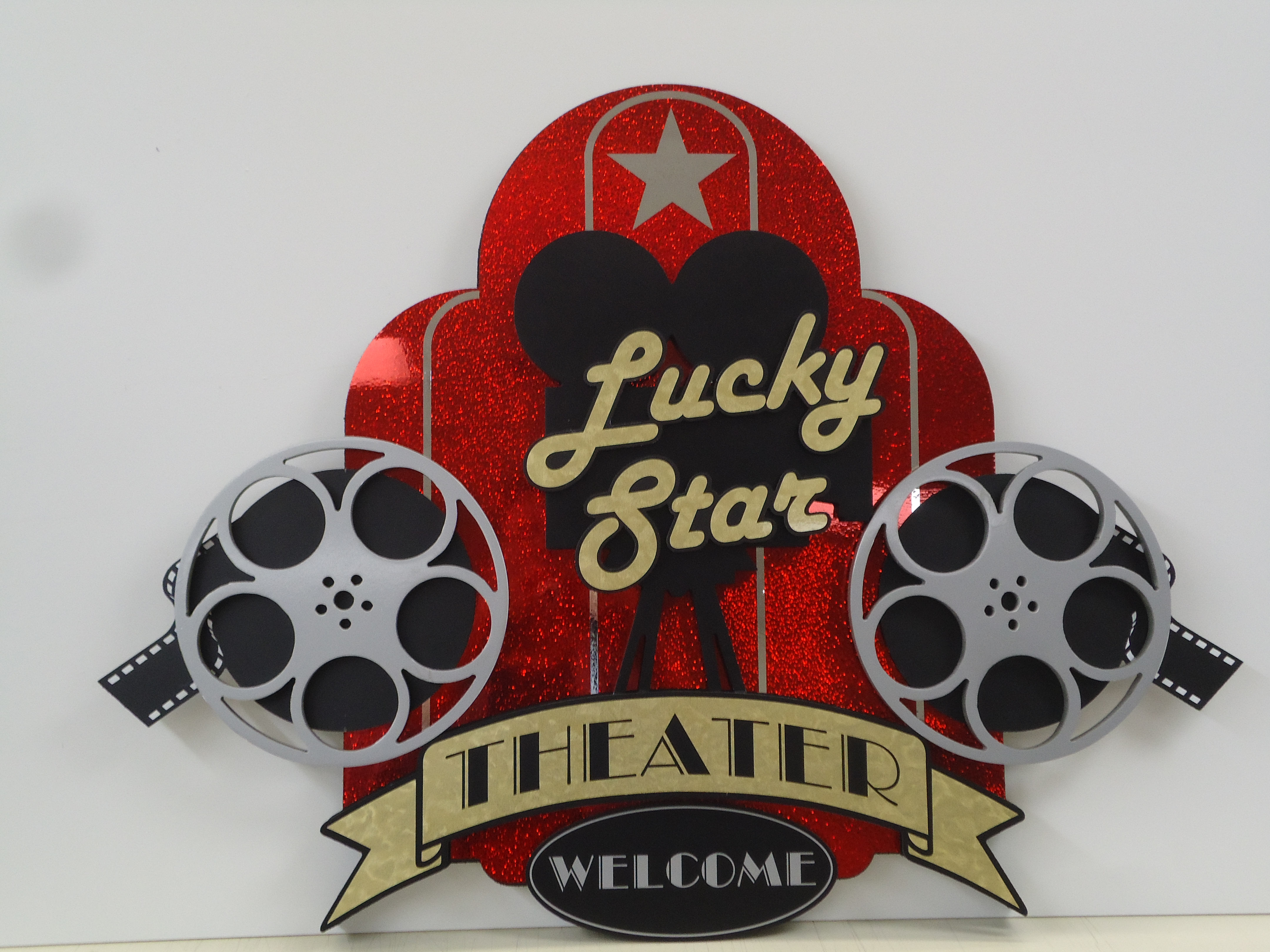 Lucky Star theater sign