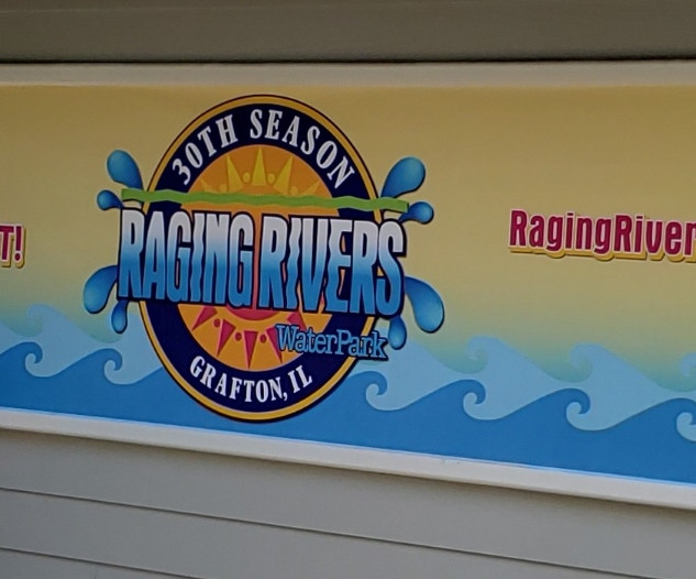 Raging Rivers 30th Banner
