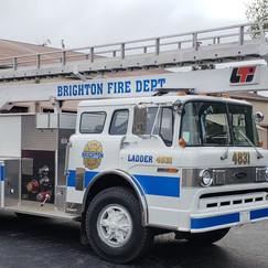 Brighton Fire Dept Ladder Truck