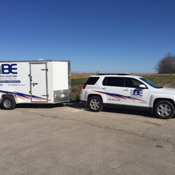 Bickle Electric SUV and trailer
