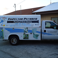 Inspector Plumber Utility truck