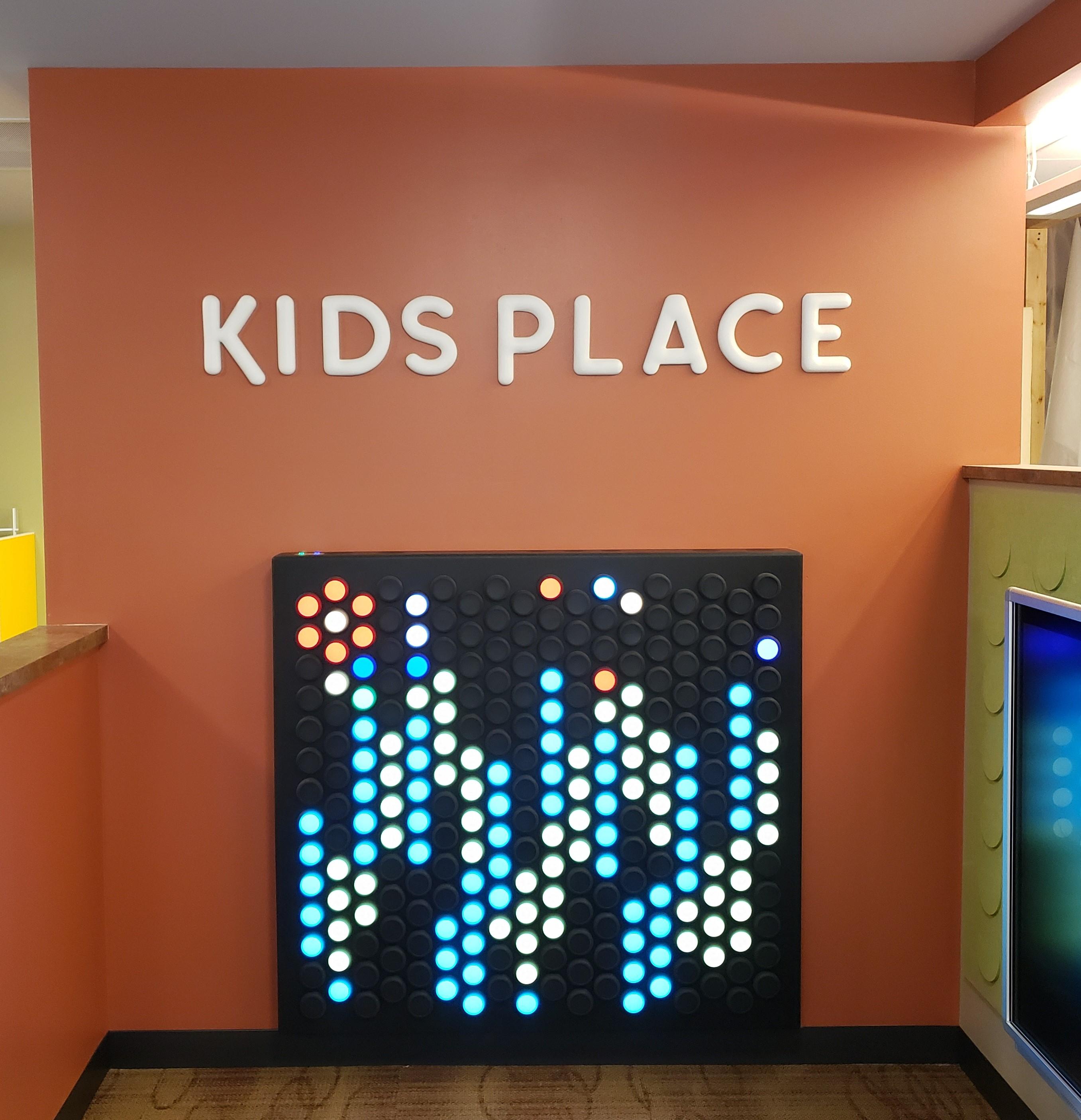 Kids Place Wall