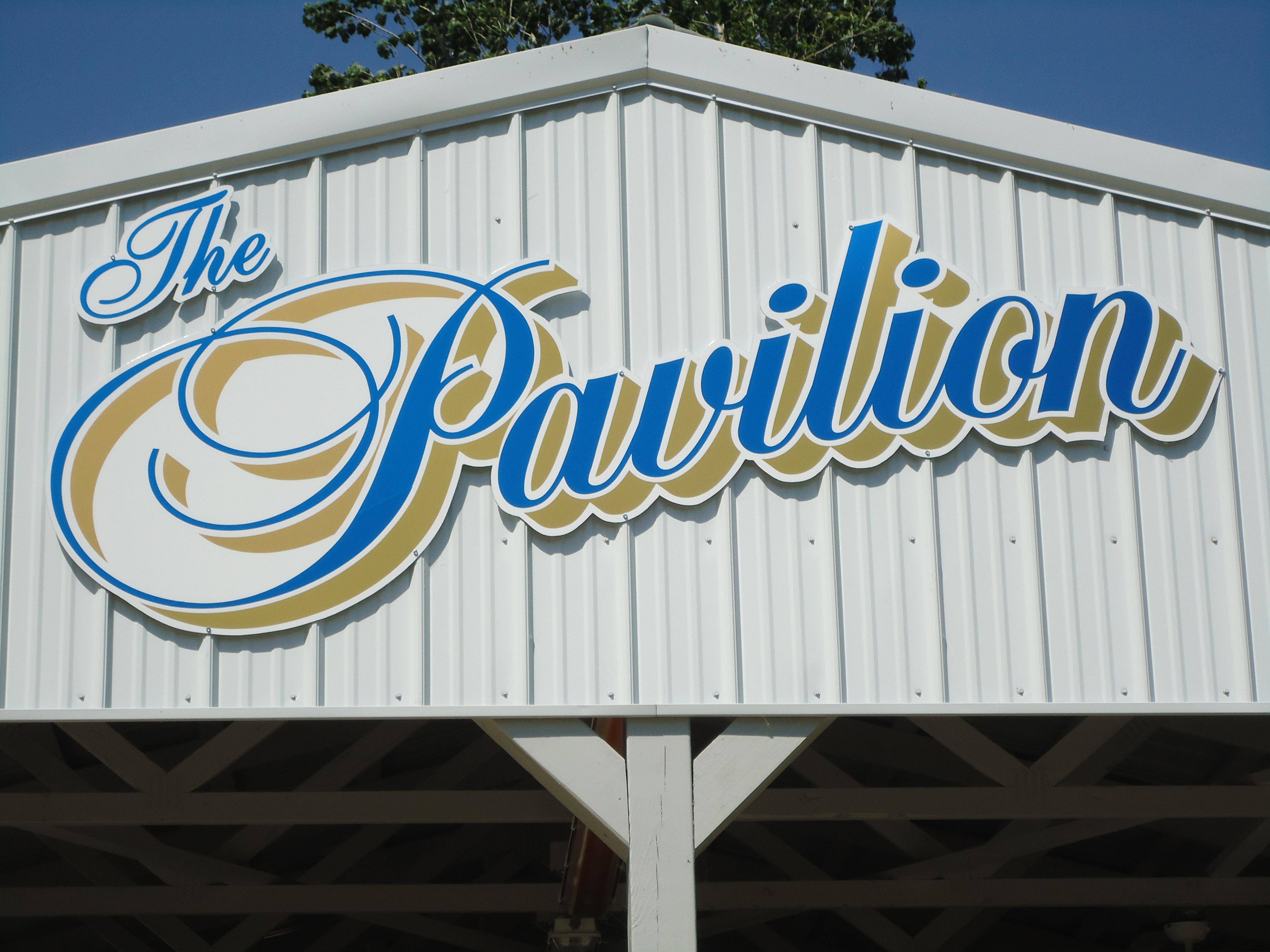 Pavilion close up