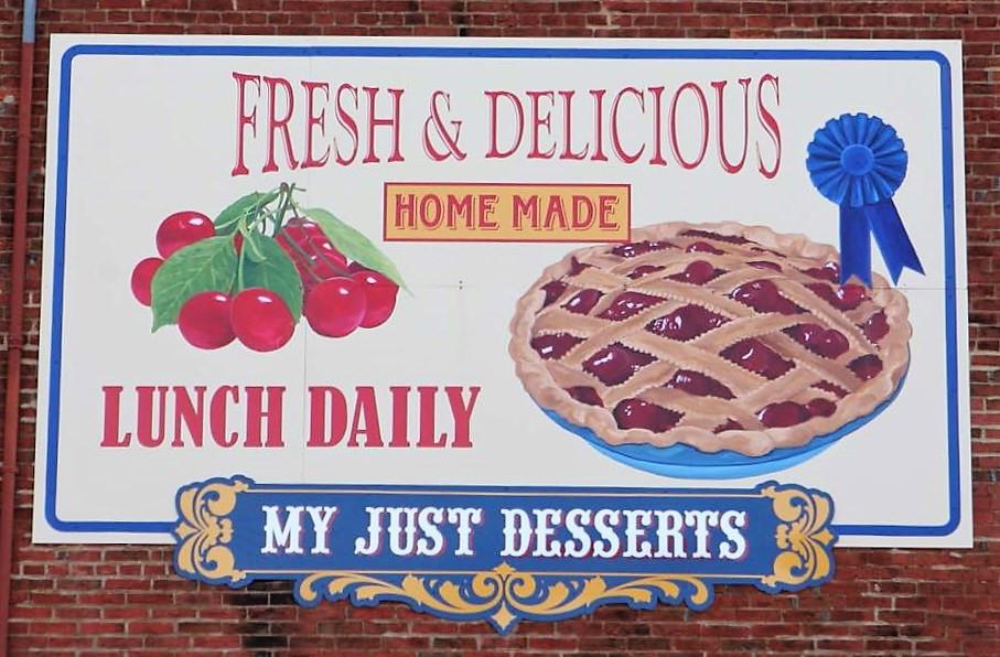 My Just Desserts mural