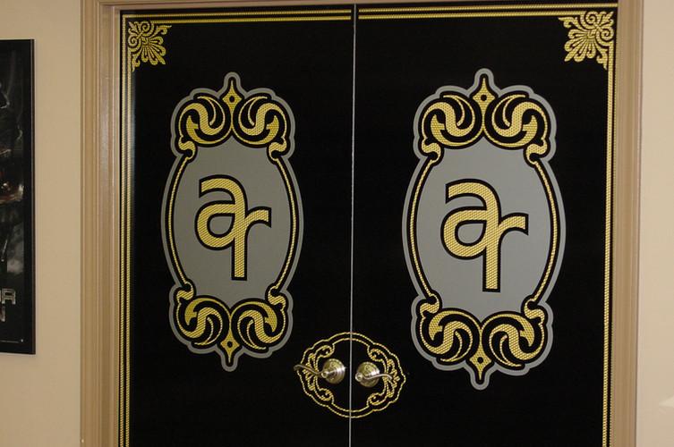 Home Theater doors