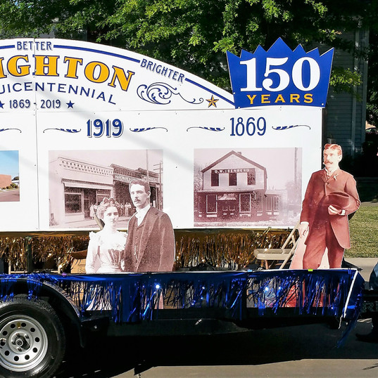 Village of Brighton Sesquicentennial Float