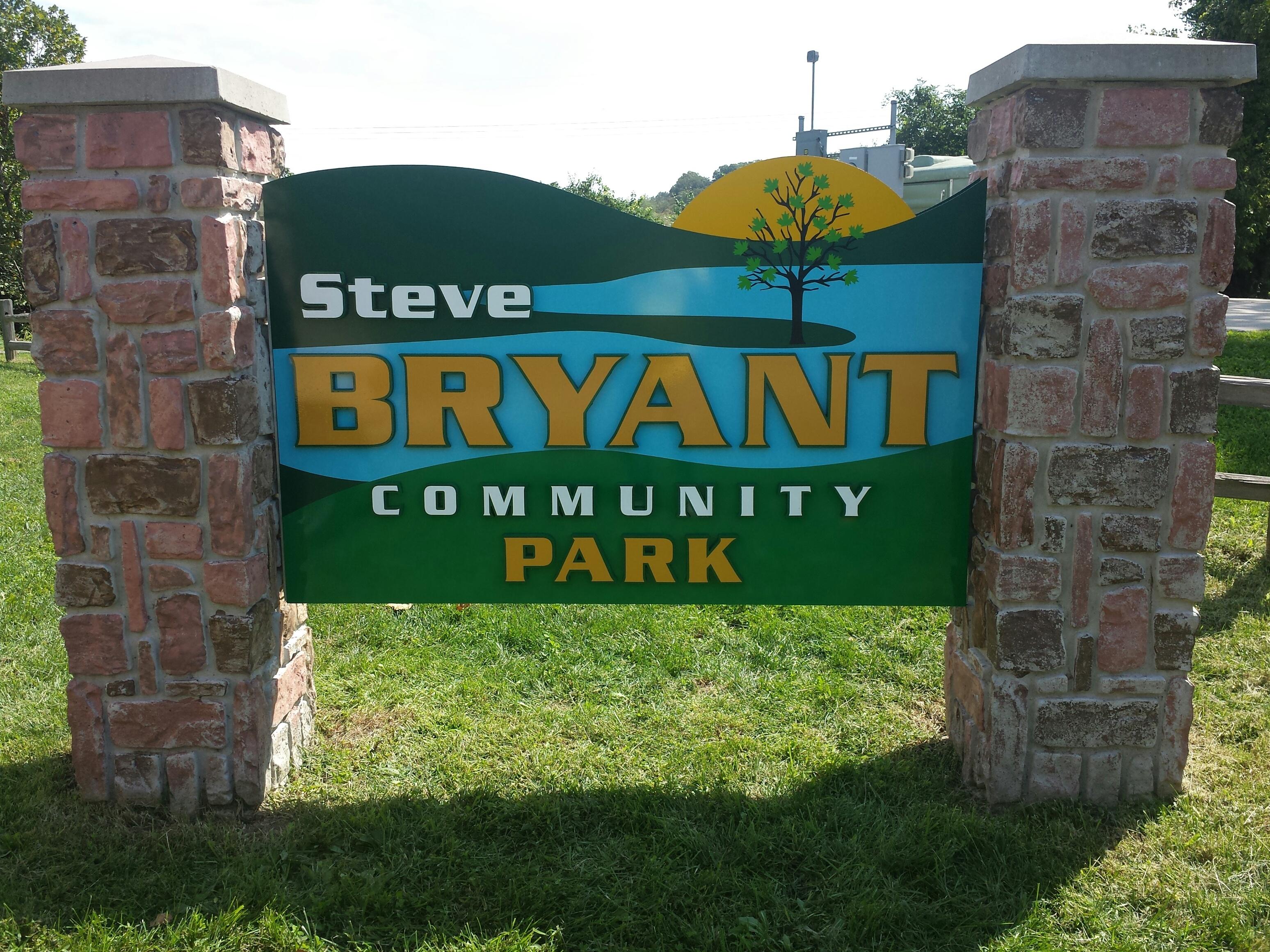 Steve Bryant Park sign