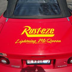 Lightning McQueen trunk