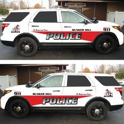 Bunker Hill Police Ford Explorer