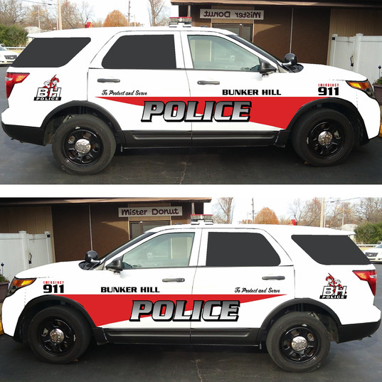 Bunker Hill Police Ford Explorer
