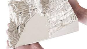 gMax 2 PRO Dual 2in1 - Topographic Model 3D Print