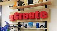 gCreate 3d printed Sign