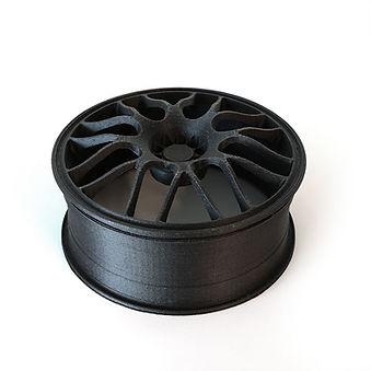 CF-Nylon (Carbon Fiber PA66) is created by adding micro-carbon fibers to nylon.