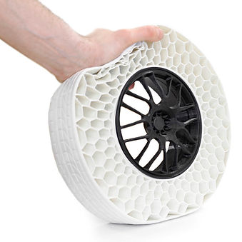 TPU (Thermoplastic Polyurethane) is a compound of hard plastic and rubbers suitable and mostly used for 3D printing.