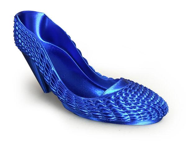 gCreate 3D Printed Shoe. Model by GTLMakes.