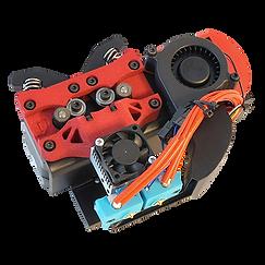 gMax 2 PRO high temperature chimera+ dual extruder 3D printer toolhead
