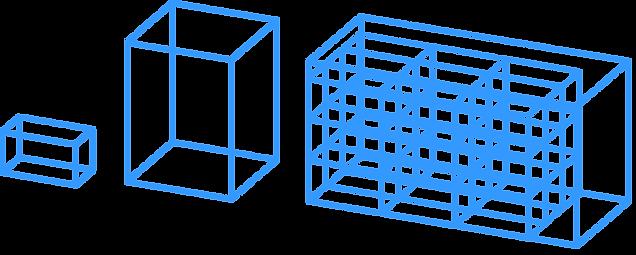 gMax 3d Printing Volume Capabilities Box Examples