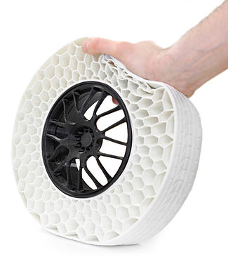 3D printed airless tire on the gCreate gMax 3D Printer