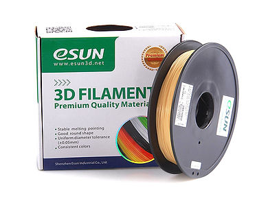 spool of eSun water soluble PVA filament that is compatible with the gMax 2 PRO 3D printer