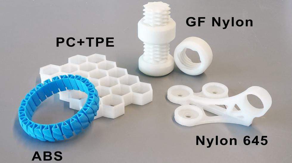 gMax 2 PRO High Temp 3D Print Examples