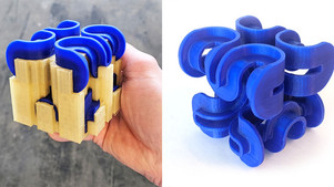 Using Water Soluble Filament (PVA) As Support Material On Your gMax 2 PRO 3D Printer
