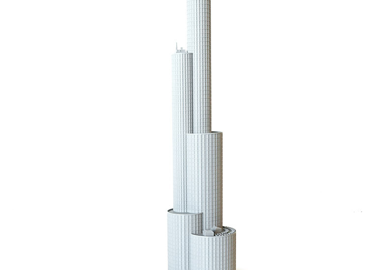 gMax 2 PRO Large and Small Building Scale 3D Print Examples