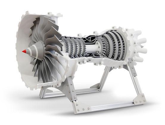 gCreate 3D Printed Jet Engine. Model by CATIAV5FTW.