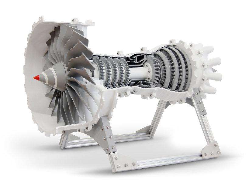 Industrial Performance gMax 3D Printer gCreate gMax 2 PRO 3D Printed Turbine