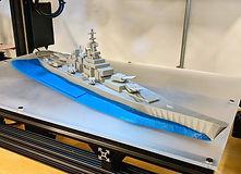 Battleship model