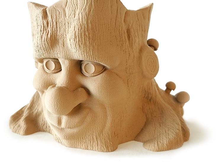 Hatchbox Wood PLA Planter 3D Printed on the gMax 2 PRO