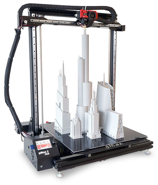 gCreate gMax 2 PRO 3D printer USA made industrial performance