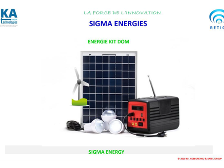 LA SIGMA ENERGIE DE KA TECHNOLOGIES