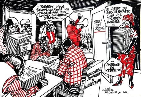 LES UNIVERSITES AFRICAINES FACE A LA PRODUCTION, AU PARTAGE ET A LA CONSERVATION DE LEURS RESSOURCES