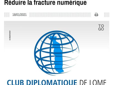 Nous vous invitons à lire les articles Publiés à Lomé au mois de janvier 2021.