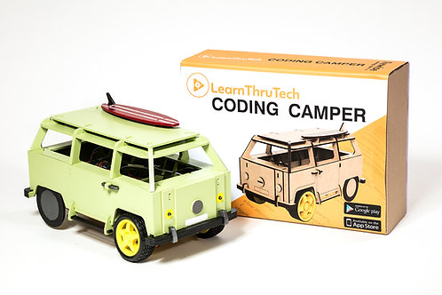 LearnThruTech Remote Control Coding Camper Kit For Teens Aged 14+