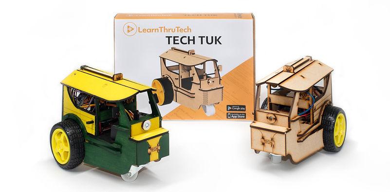 STEM kit workshop TukTuk
