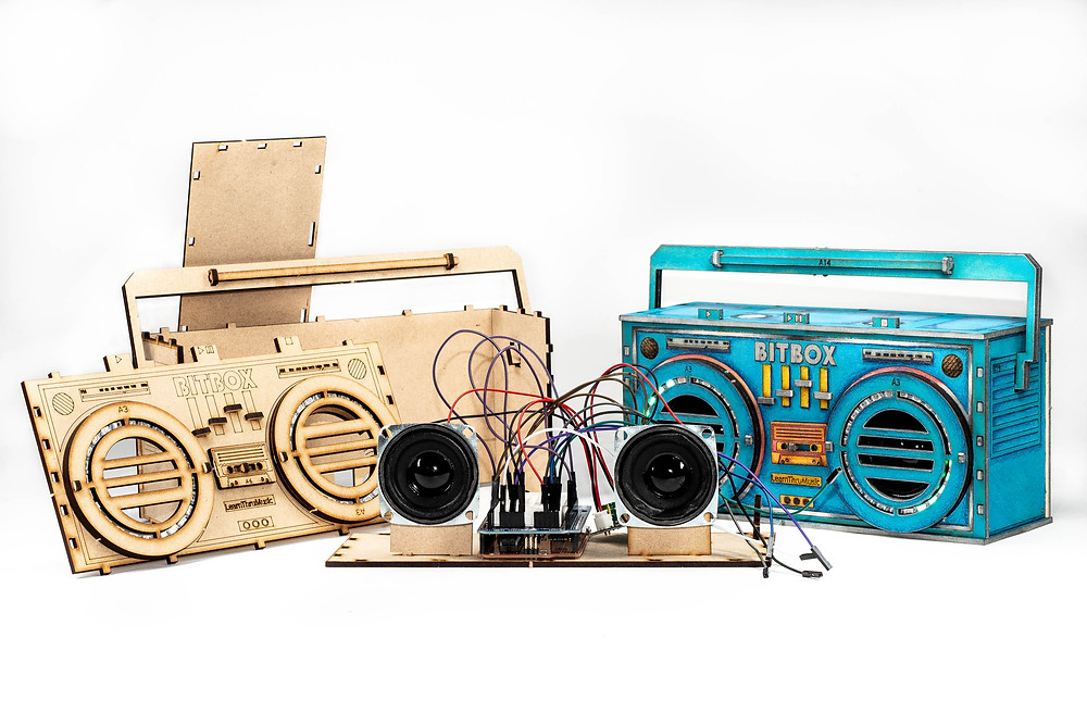 Boombox present for dad on fathers day
