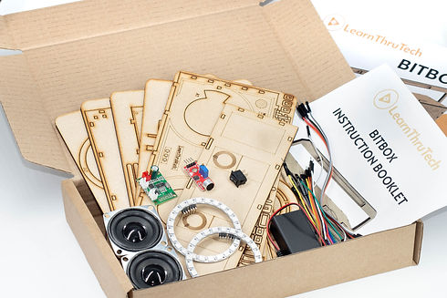 BITBOX Boombox learnthrutech stem kit