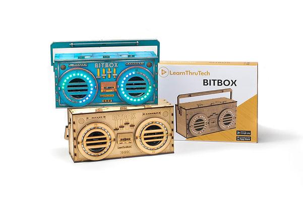learnthrutech stem kit bitbox boombox