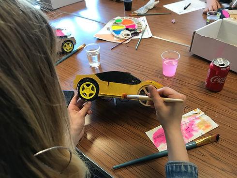 stem kit coding car home school course
